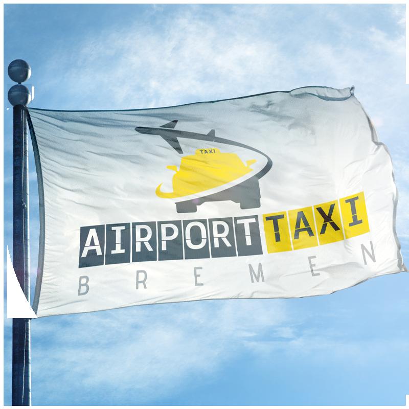 Airport Taxi Bremen Flag